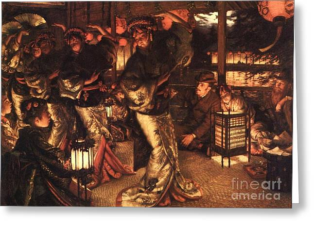 Prodigal Greeting Cards - The Prodigal son In Foreign Climes Greeting Card by Pg Reproductions