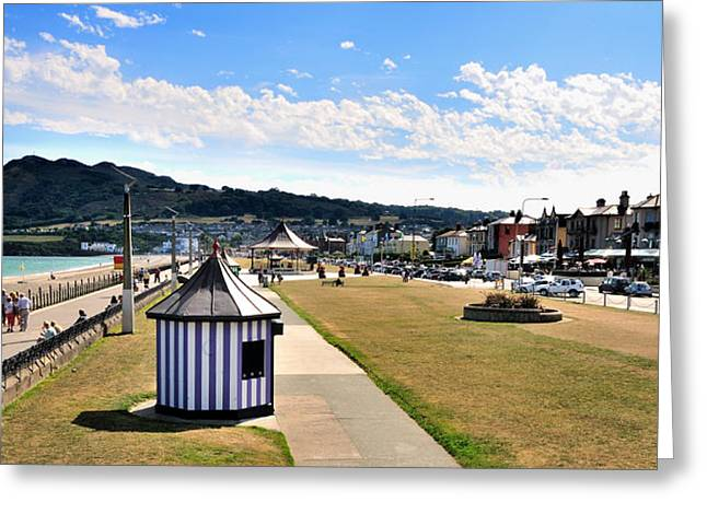 Architectur Greeting Cards - The Promenade in Bray Ireland Greeting Card by Frazer Ashford