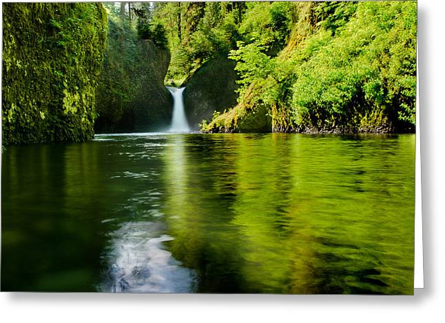 Tony Murray Greeting Cards - The Punchbowl Greeting Card by Tony Murray