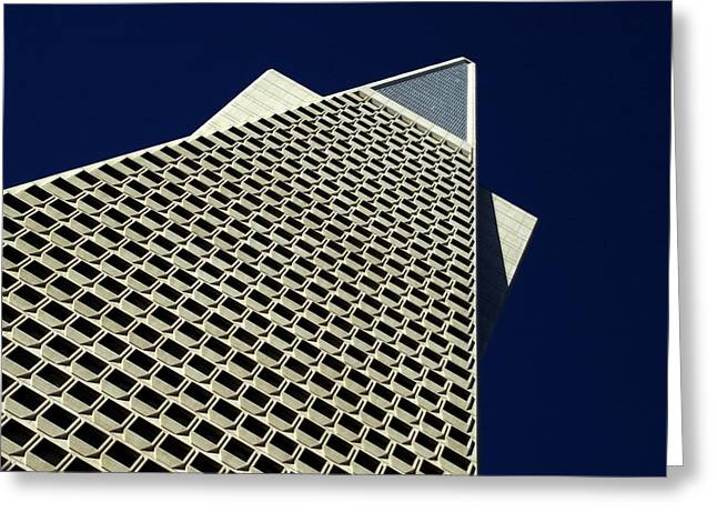 The Pyramid Greeting Card by Bill Gallagher