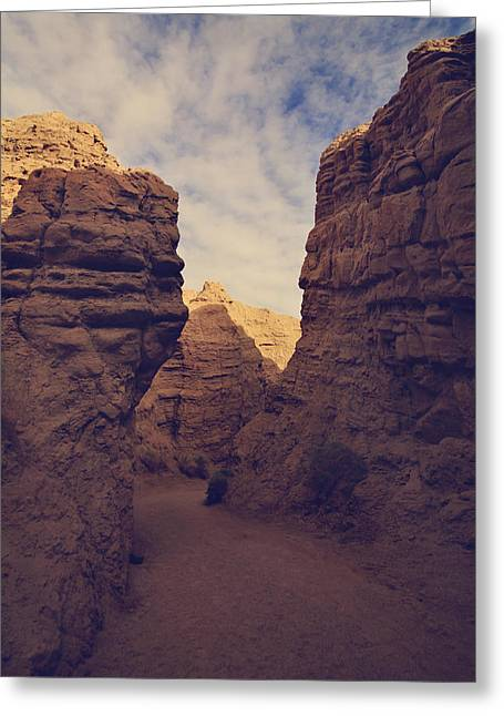 State Park Canyon Greeting Cards - The Pyramid Greeting Card by Laurie Search