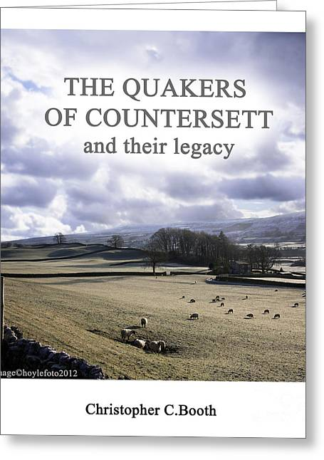 Quakers Digital Art Greeting Cards - The Quakers Of Countersett Greeting Card by Mike Hoyle