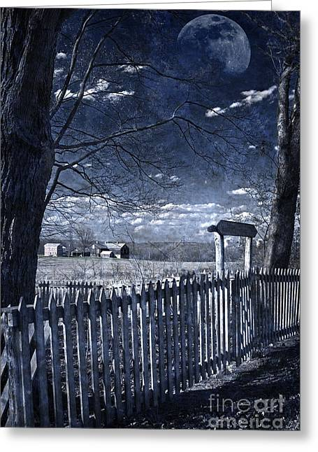 Pearly Gates Greeting Cards - The Quicksand Of Time Greeting Card by John Stephens