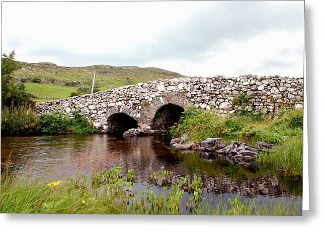 The Quiet Man Bridge Greeting Card by Charlie and Norma Brock