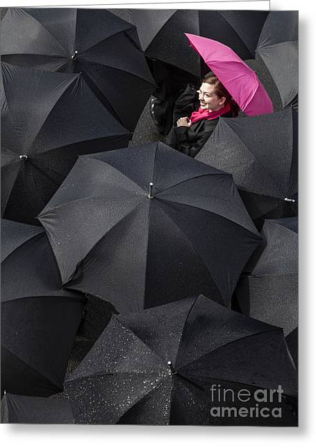 Optimism Greeting Cards - The Rain is Over Greeting Card by Diane Diederich