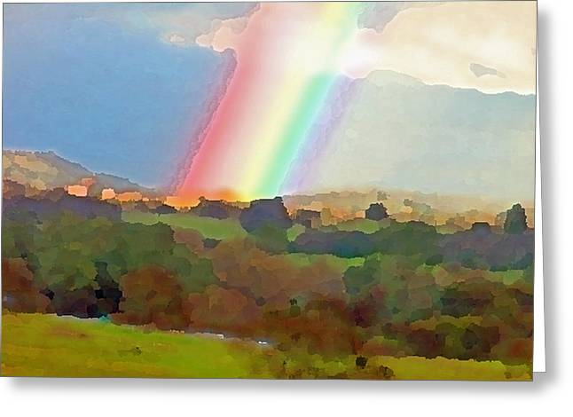 Goldrush Greeting Cards - The Real Pot of Gold Greeting Card by Charlette Miller