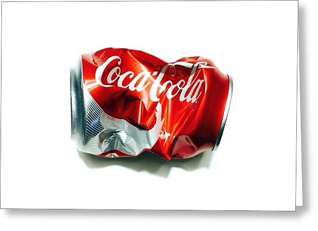 Pepsi Can Greeting Cards - The Real Thing Greeting Card by Michael Bryant