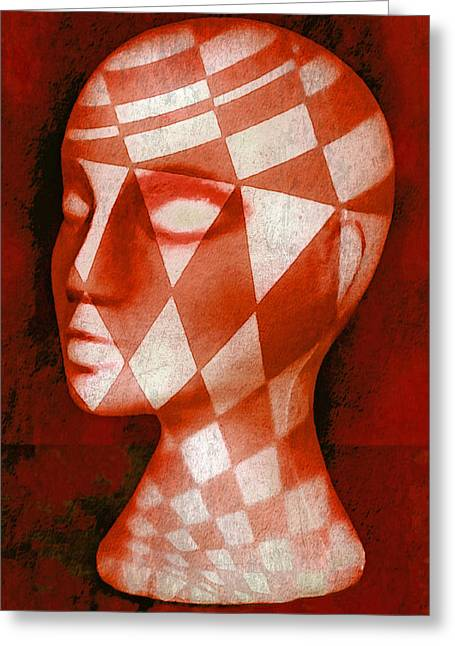 Gypsy Greeting Cards - The Red Phantom Greeting Card by Jeff  Gettis