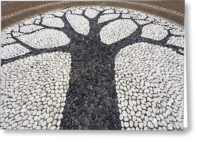 Reformer Greeting Cards - The Reformers Tree memorial in Hyde Park in London England Greeting Card by Robert Preston