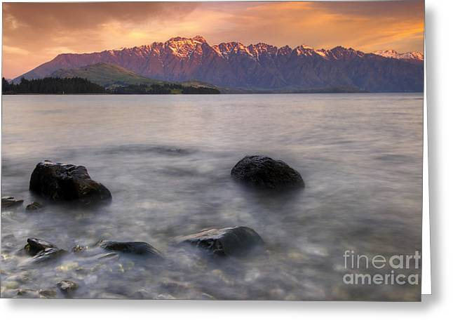 Photo Image Greeting Cards - The Remarkables Greeting Card by Photo Image
