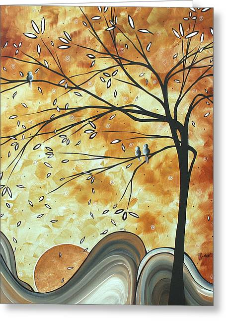 Licensor Greeting Cards - The Resting Place by MADART Greeting Card by Megan Duncanson