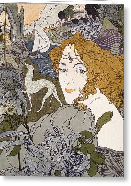 The Return Greeting Card by Georges de Feure