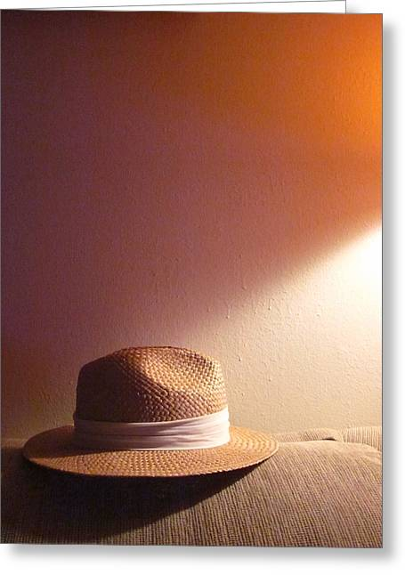 Guy Ricketts Photography Greeting Cards - The Return of the Headless Hat Greeting Card by Guy Ricketts