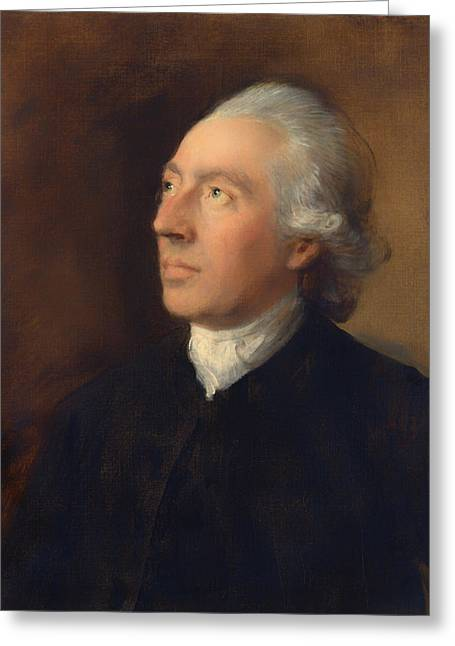 The Rev Humphrey Gainsborough Greeting Card by Mountain Dreams