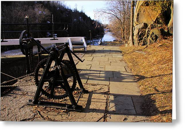 Kingston Greeting Cards - The Rideau at Kingston Mills Greeting Card by Jim Vance