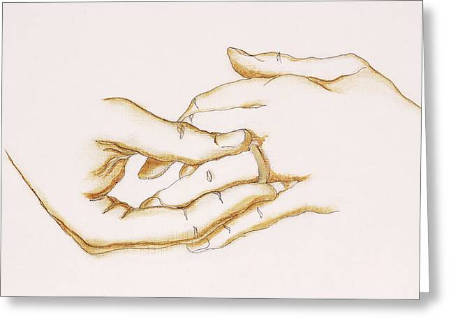 Vow Greeting Cards - The Ring, 2007 Greeting Card by Stevie Taylor