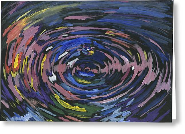 Charlotte Gallery Greeting Cards - The Ripple Effect Greeting Card by Preston Sandlin