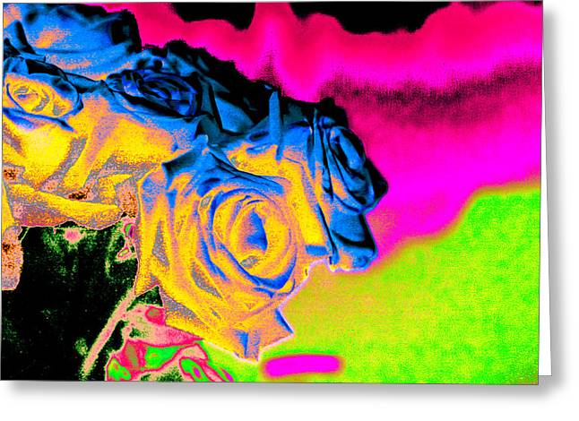 Technical Digital Art Greeting Cards - The Ripple Left Behind By The Man with the Master Mind Greeting Card by Michelle J Sergi