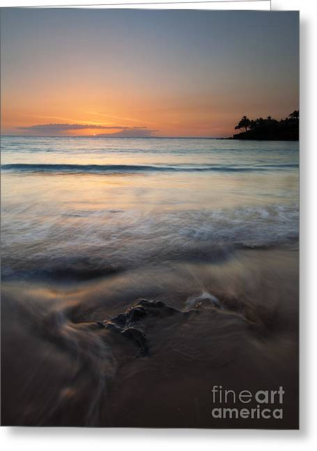 ; Maui Greeting Cards - The Rise and Fall Greeting Card by Mike  Dawson