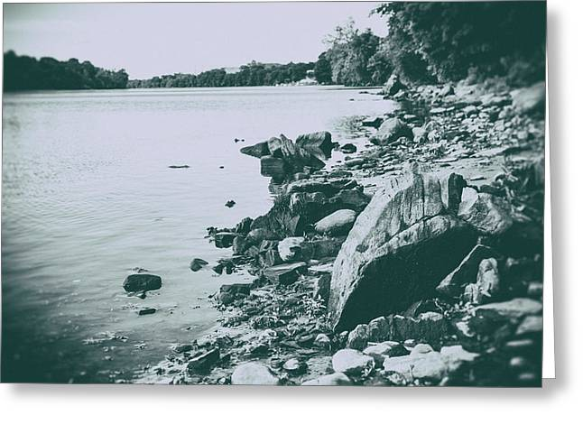 Shelton Greeting Cards - The Rivers Edge Greeting Card by Karol  Livote