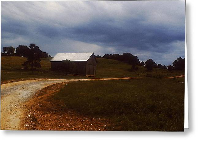 Tennessee Barn Greeting Cards - The Road Home Greeting Card by Craig Smith