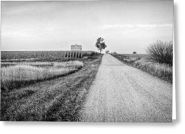 Jeff Burton Greeting Cards - The Road Home Greeting Card by Jeff Burton