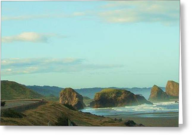 Hwy 1 Greeting Cards - The Road Home Greeting Card by Joshua Sunday
