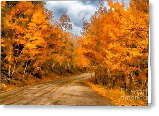 The Road Less Traveled Greeting Card by Jon Burch Photography