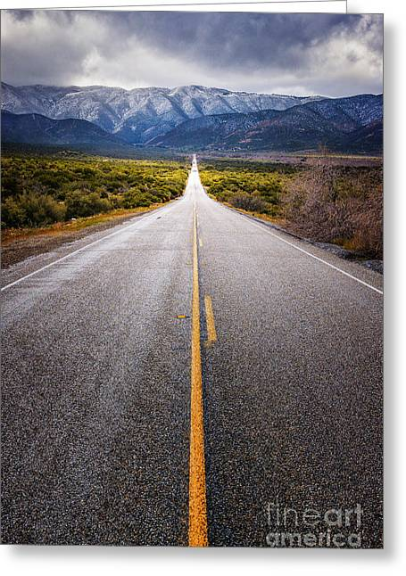 The Road To Julian Greeting Card by Alexander Kunz