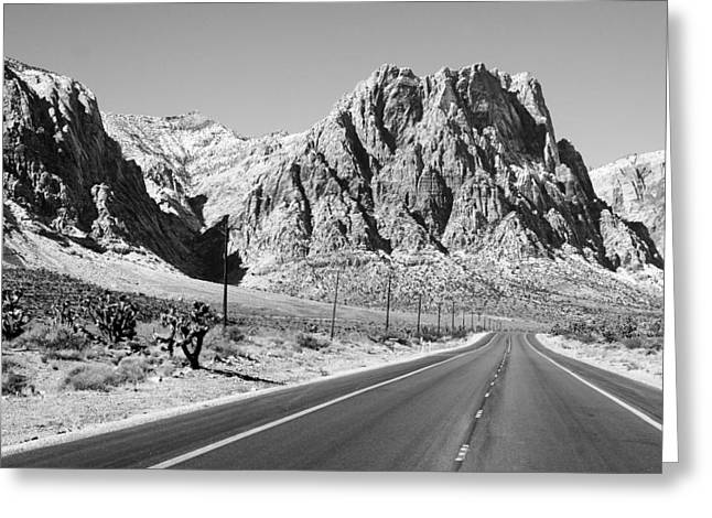 Nca Greeting Cards - The Road to Red Rock Greeting Card by Christopher Rumar