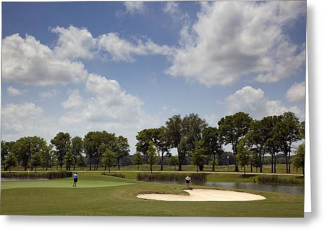 Trent Greeting Cards - The Robert Trent Jones Golf Trail Greeting Card by Mountain Dreams