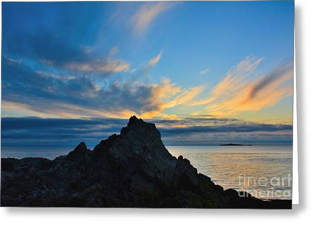 Nature Greeting Cards - The Rock Greeting Card by Elmar Langle