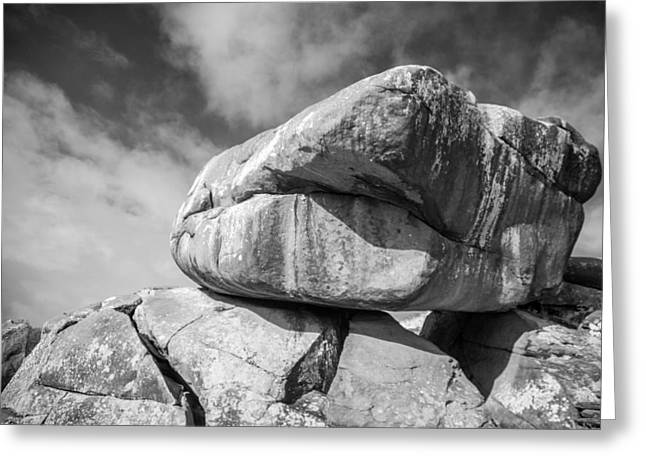 Devils Den Greeting Cards - The Rock Greeting Card by Guy Whiteley