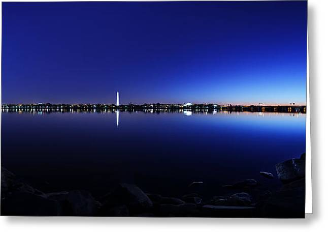 The Rocks Of The Potomac Greeting Card by Metro DC Photography