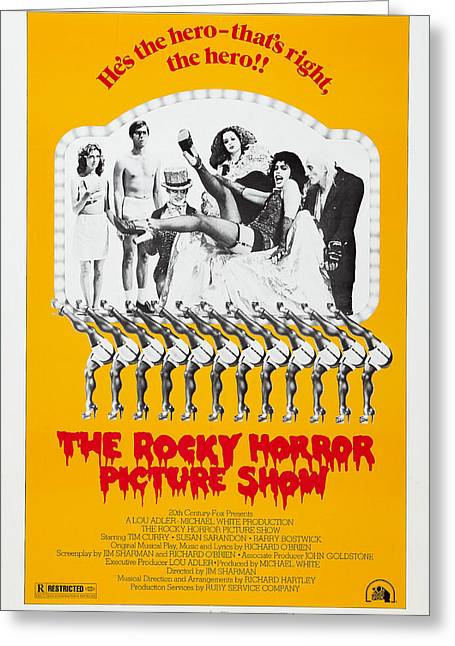 Home Theater Greeting Cards - The Rocky Horror Picture Show Greeting Card by MMG Archives