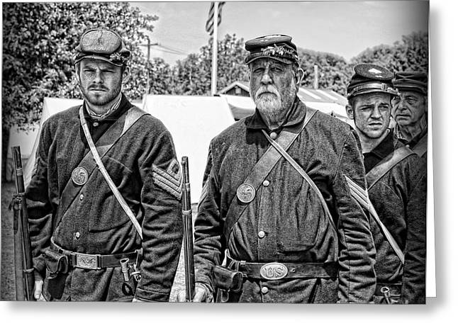 Brigade Greeting Cards - The Rocky Road From Dublin - The Irish Brigade - The Civil War Greeting Card by Lee Dos Santos