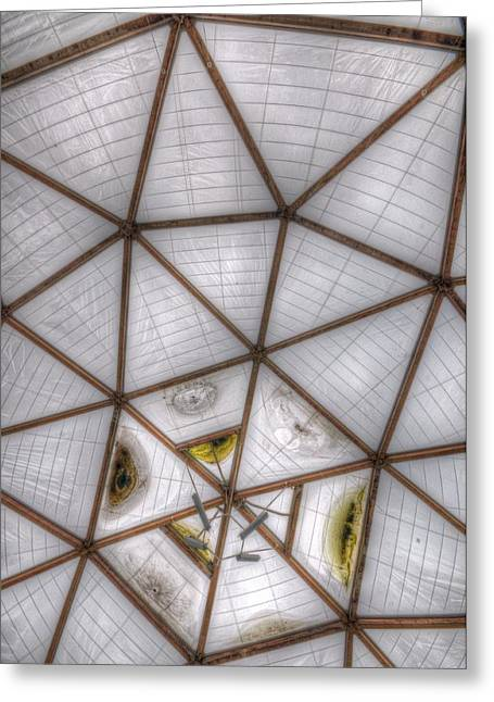 Public Health Greeting Cards - The roof Greeting Card by Nathan Wright