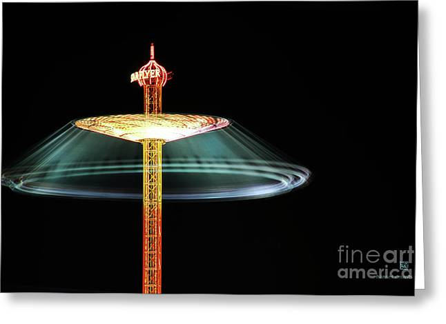 The Rotating Skirt Greeting Card by Hannes Cmarits