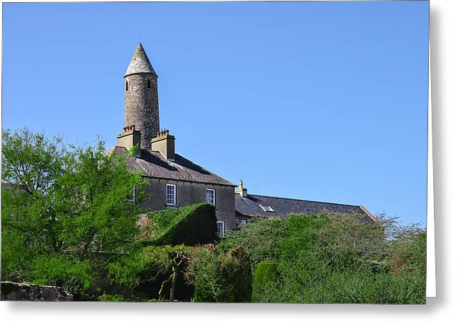 Sligo Greeting Cards - The Round Tower in Killala Bay Ireland Greeting Card by Bill Cannon