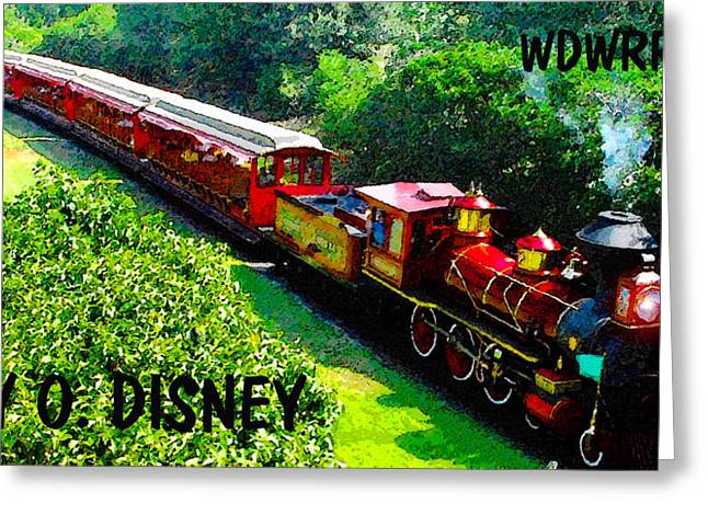 Theme Parks Greeting Cards - The Roy O. Disney Greeting Card by David Lee Thompson