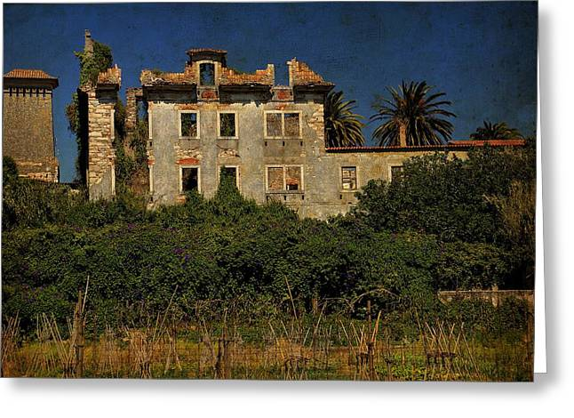Old House Photographs Greeting Cards - The Ruins II Greeting Card by Marco Oliveira