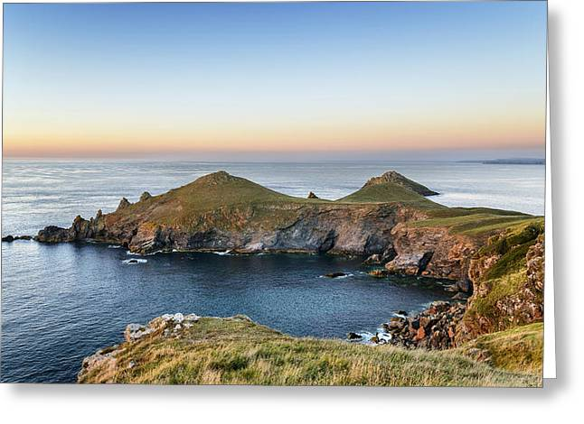 Kernow Greeting Cards - The Rumps Greeting Card by Helen Hotson