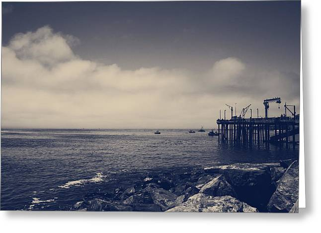 The Salty Air Greeting Card by Laurie Search