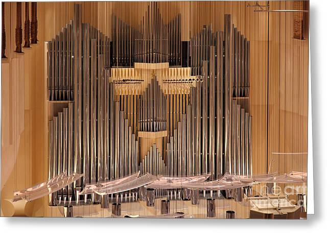 Symphony Hall Greeting Cards - The San Francisco Symphony 5D22504 Greeting Card by Wingsdomain Art and Photography