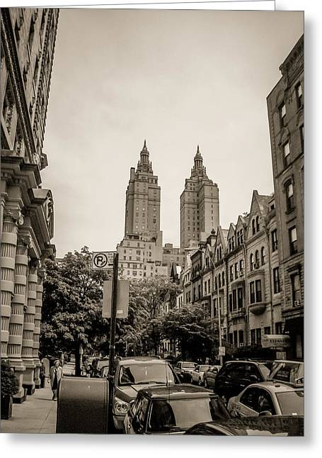 Newyorkcity Greeting Cards - The San Remo apartment Greeting Card by Wilson Carvalho
