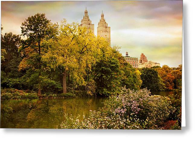 The San Remo Greeting Card by Jessica Jenney