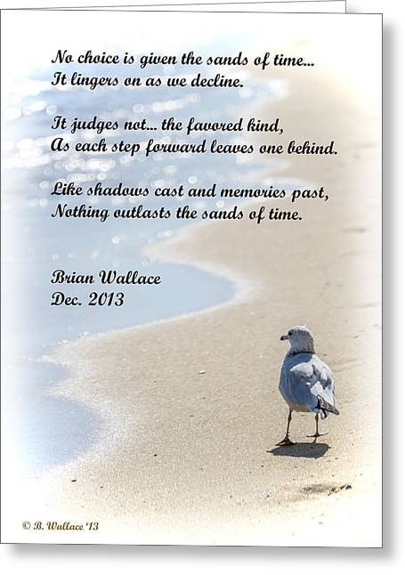 Moist Digital Art Greeting Cards - The Sands Of Time Greeting Card by Brian Wallace