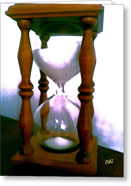 Etc. Paintings Greeting Cards - The Sands of Time Greeting Card by CHAZ Daugherty