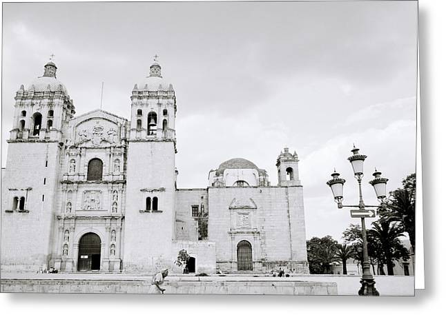 Lady Of Solitude Church Greeting Cards - The Santo Domingo Greeting Card by Shaun Higson