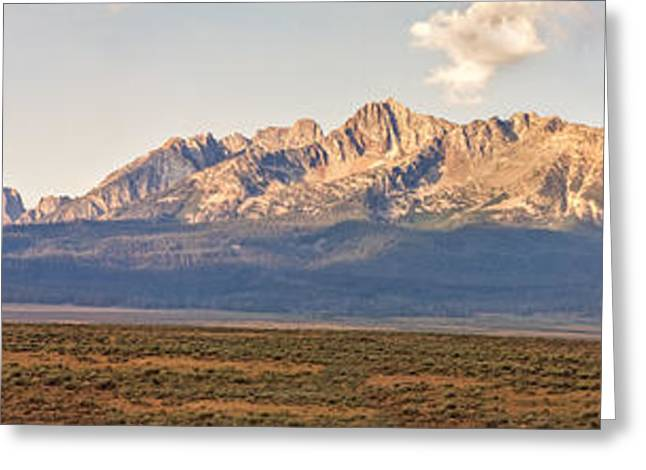 The Sawtooths' Greeting Card by Robert Bales